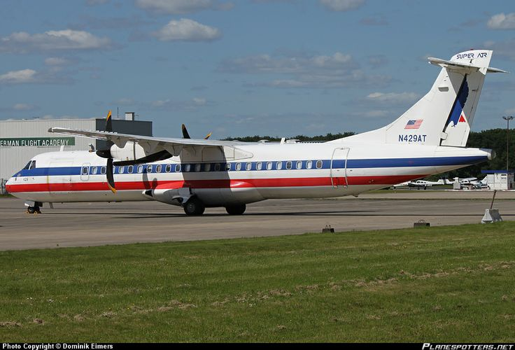 American Eagle Airlines | N429AT Executive Airlines (American Eagle) ATR 72-212 taken 02-06-2013 ...