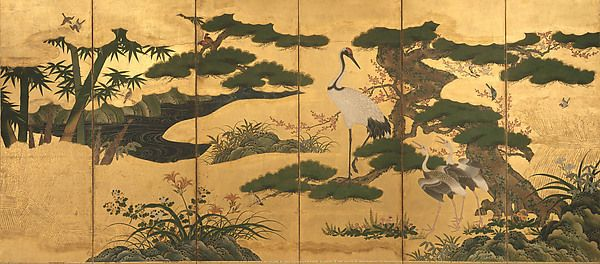 Birds and Flowers of the Four Seasons | Japan | Momoyama period (1573–1615) | The Met