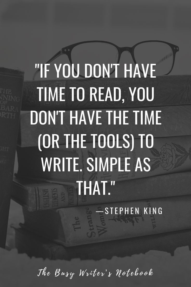 stephen king writing tips for all creative writers. #writingtips