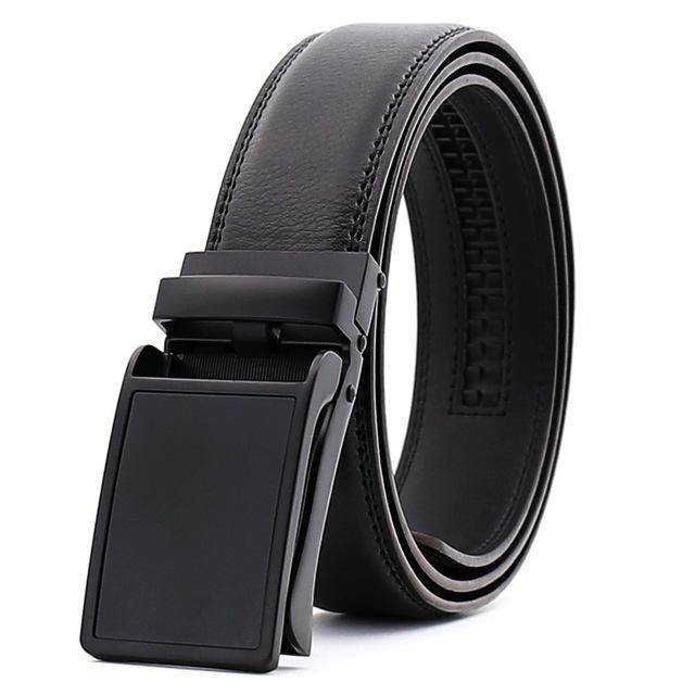 Leather Belt Men Designer Men Belts Luxury Automatic Buckle