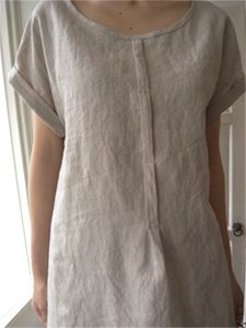 Recycle mens shirts - remove placket and make a pleat