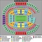 4 SEC Football Championship Tickets Mezzanine 4 fanfare tix Alabama Georgia