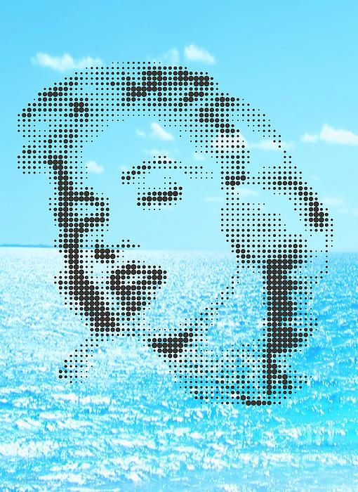 MARILYN ON THE SEA