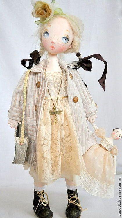 :: Crafty :: Doll :: Коллекционные куклы ручной работы. Ярмарка Мастеров - ручная работа Коллекционная кукла Настена. Handmade.