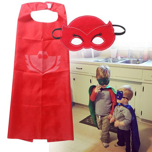2016 Горячей Продажи Маска + плащ супермен человек-паук дети супергерой мысы бэтмен костюм супергероя костюмы для мальчиков для девочек партии