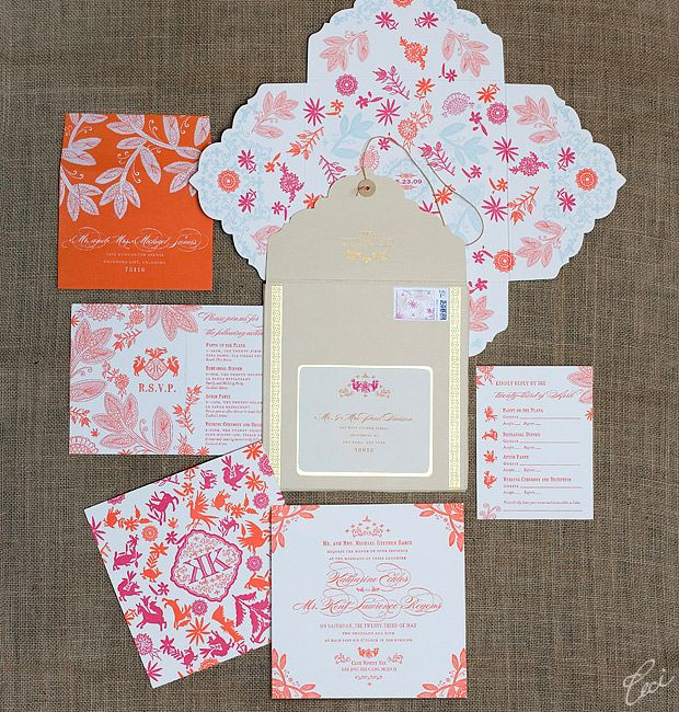 Katharine and Kent Destination Wedding Invitations by Ceci New York: Envelopes, Destinations Cabo, Wedding Invitations, Ceci Style, Mexicans Destinations, Invitations Ceci, Destinations Wedding, Cabo San Lucas, Destination Weddings