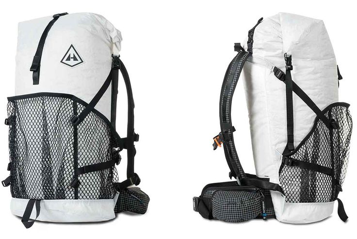 We marveled at this pack's futuristic, translucent body, which is made of a Dyneema material so strong the brand compares it against steel.