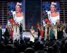 Mallory Hytes Hagan (C), Miss New York, reacts after being crowned the new Miss America during the 2013 Miss America Pageant at PH Live at Planet Hollywood Resort & Casino on January 12, 2013 in Las Vegas, Nevada.
