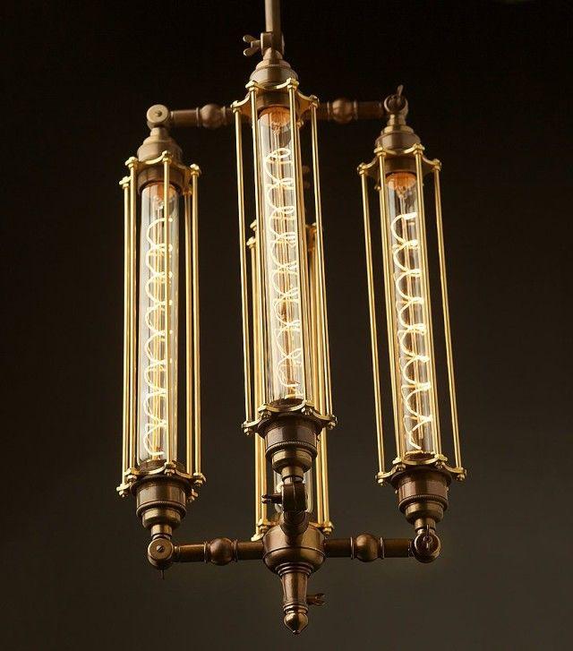 Amazing Steampunk Edison Light Bulbs