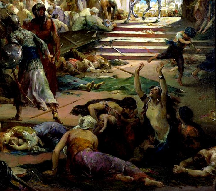 Egypt , Old Cairo Paintings: Henri Leopold Levy - French ,1840 -1904 - Napoleon Bonaparte, (C19)