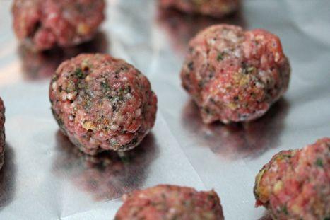 Costco Plan #1 Herbed Meatballs