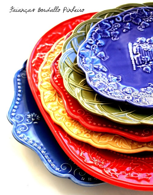 Louça Bordallo Pinheiro Portugal  sc 1 st  Pinterest & 18 best Tableware | Bordallo Pinheiro images on Pinterest | Dinner ...