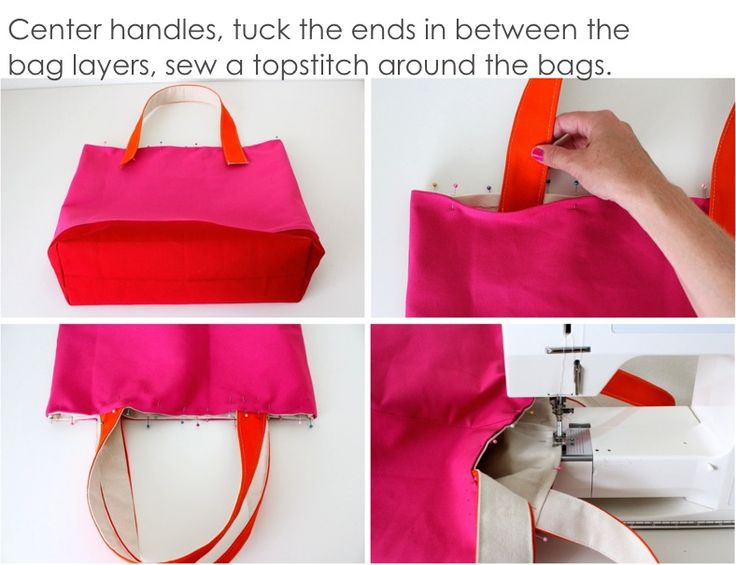 TUTORIAL: Reversible, Lined, Color-blocked TOTE – MADE EVERYDAY