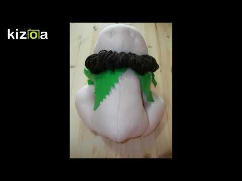 Come fare Elfi di stoffa,  Modello di Maria Oliviera, libera interpretaz...