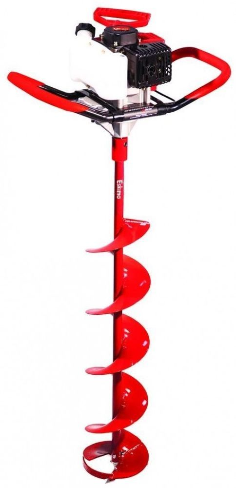 Eskimo Sting Ray 8 in. Ice Fishing Auger Cutting Drilling Hole Digger Auger Post #Eskimo