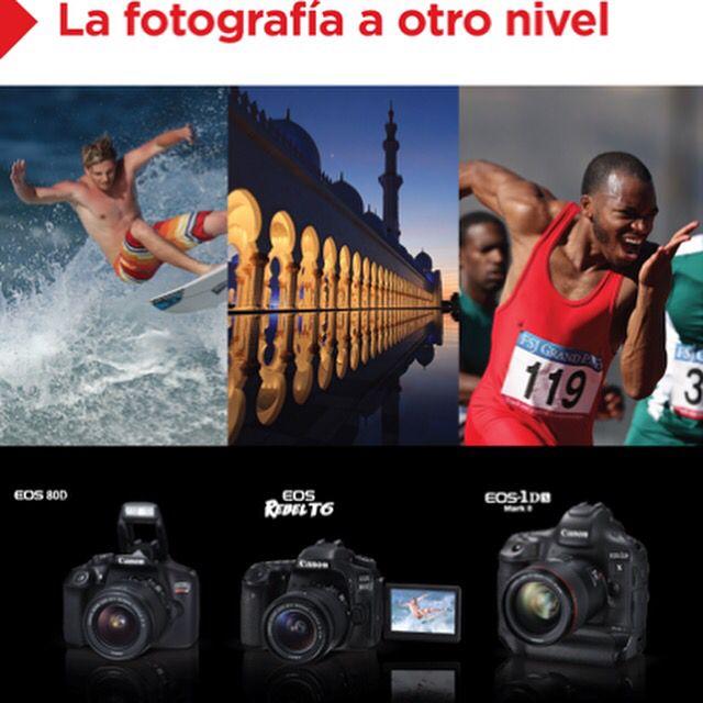 #LanzamientoCanon @canoncolombia #RebelT6 #EOS1DXMarkll #Canon80D La Fotografía A Otro Nivel 📷📸