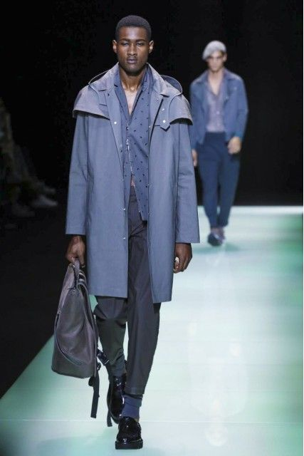 Emporio Armani Punctuated The Idea Of Modern Vintage By Partnering Up With Vespa MilanFashionWeek