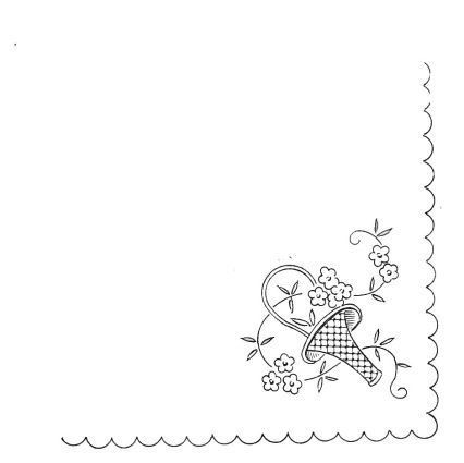 Patrones de dibujos para pintar manteles - Imagui