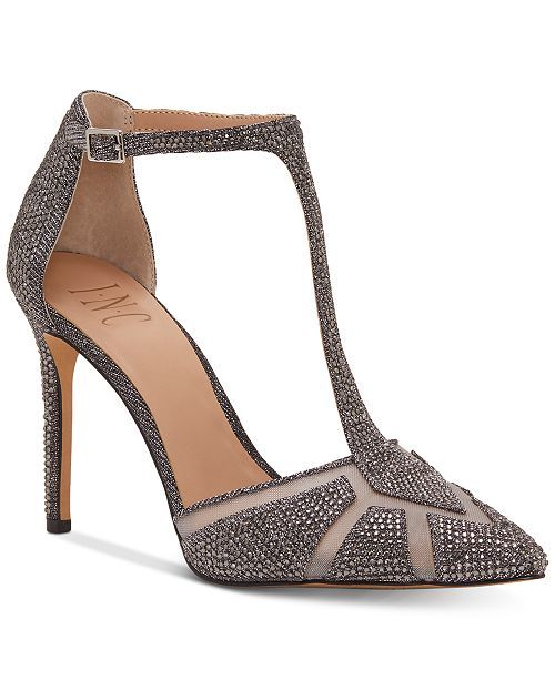 30c68aad6 INC International Concepts I.N.C. Women's Karsyn T-Strap Evening Sandals,  Created for Macy's & Reviews - Pumps - Shoes - Macy's