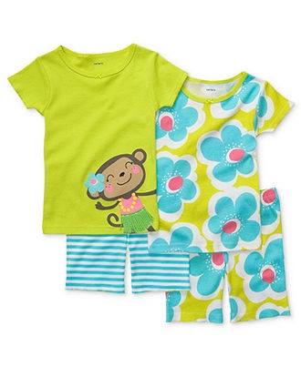 Carters Baby Set, Baby Girls Four-Piece Cotton Pajamas - Kids Shop All Baby - Macys    http://www1.macys.com/shop/product/carters-baby-set-baby-girls-four-piece-cotton-pajamas?ID=795584=61074=#fn=sp%3D11%26spc%3D1473%26ruleId%3D2%26slotId%3D439