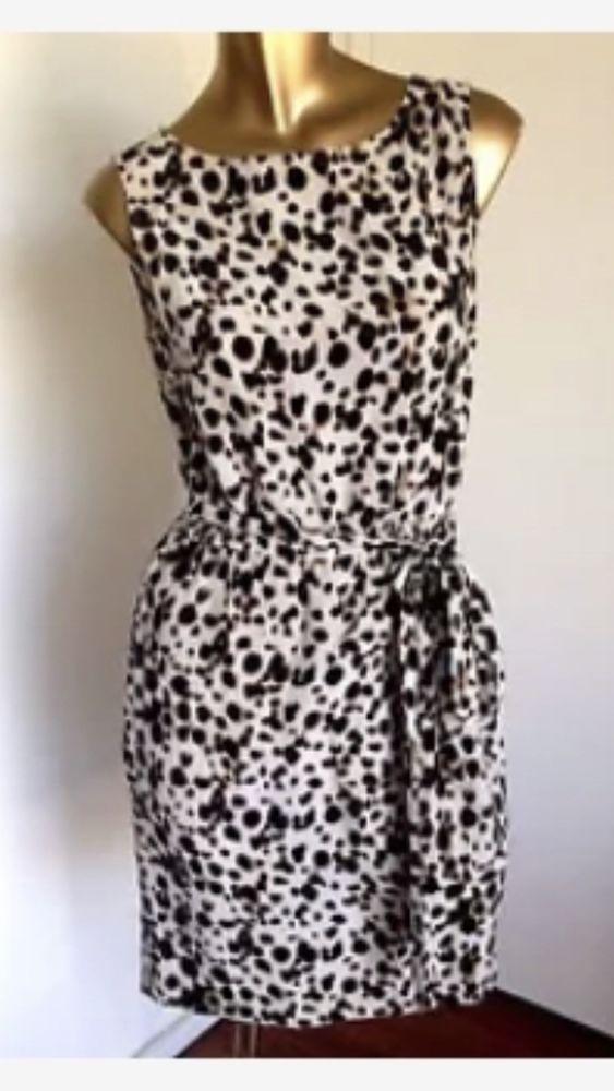 Marcs Silk Animal Print Dress Size 6  fashion  clothing  shoes  accessories   womensclothing  dresses (ebay link) d1b496209