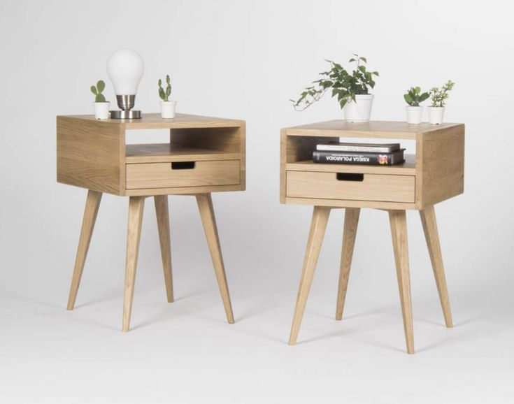 Best Pair Of Mid Century Modern Nightstand Bedside Table End 400 x 300