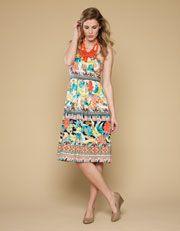 Acapulco Printed Dress