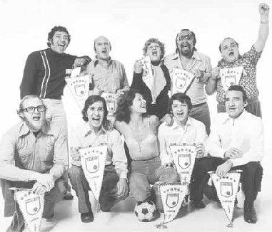 La hinchada famosa de Santa Fe en los 70's