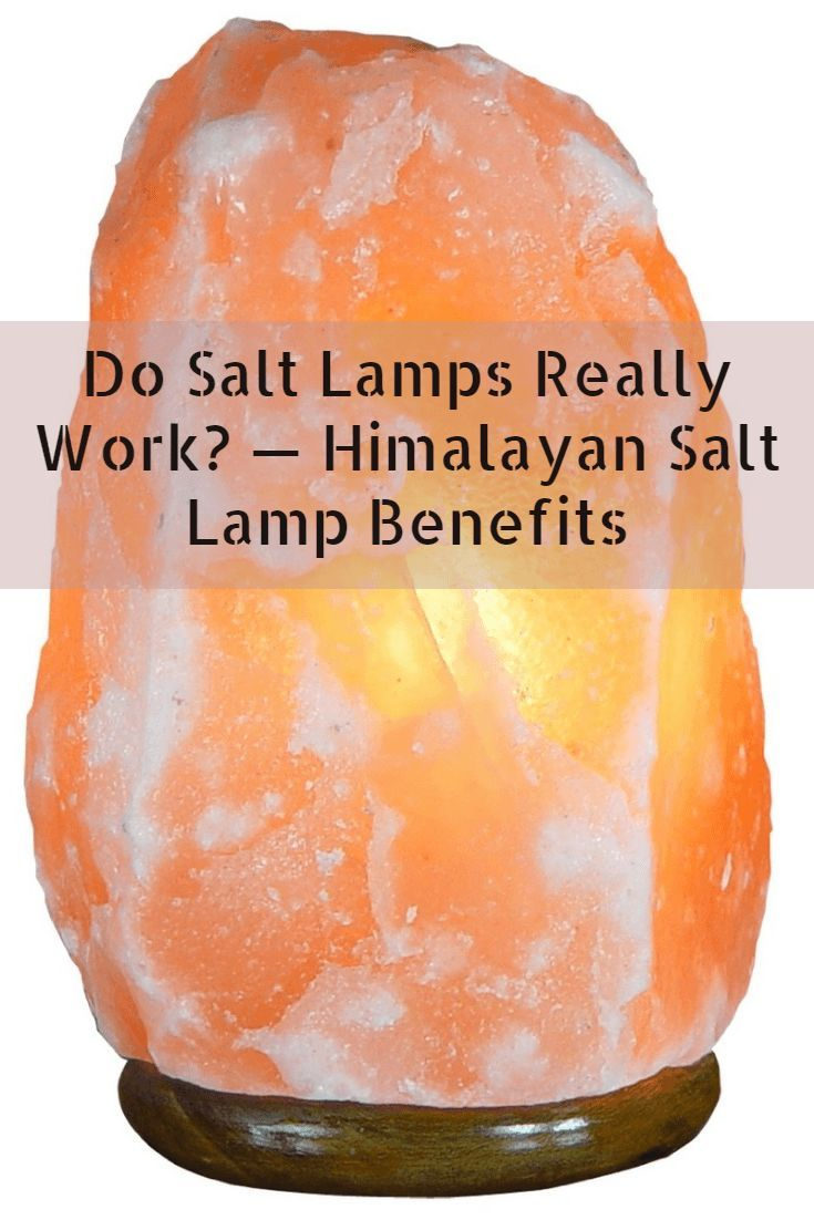 Himalayan Crystal Salt Lamps Make An Attractive Feature In