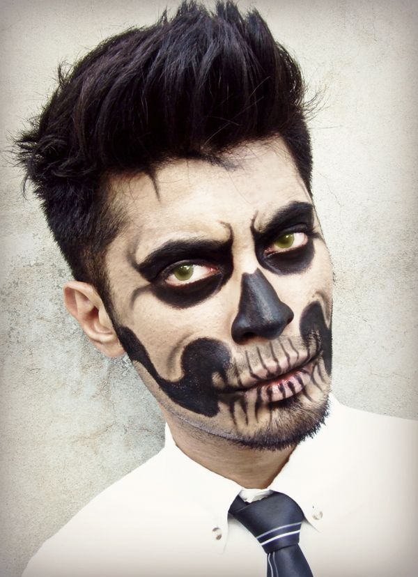 how to do zombie makeup male makeup vidalondon. Black Bedroom Furniture Sets. Home Design Ideas