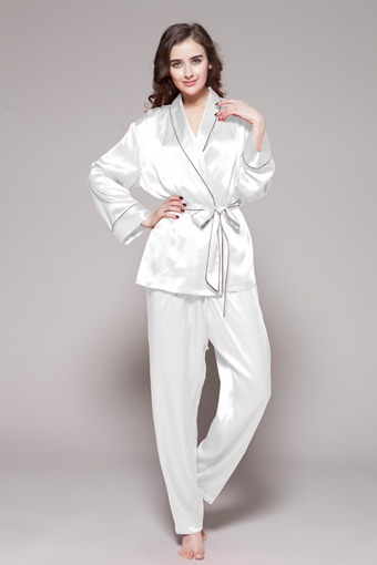Buy from online shop for 100% perfect quality silk pajamas for women petite with big discount. $97 #pajamas #silk #lilysilk