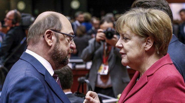Martin Schulz et Angela Merkel va s'affronter pour obtenir le poste de chancelier allemand. L'historien John Laughland est indigné par ces gens qui «dupent les électeurs» et «ont le culot d'appeler cela la démocratie».