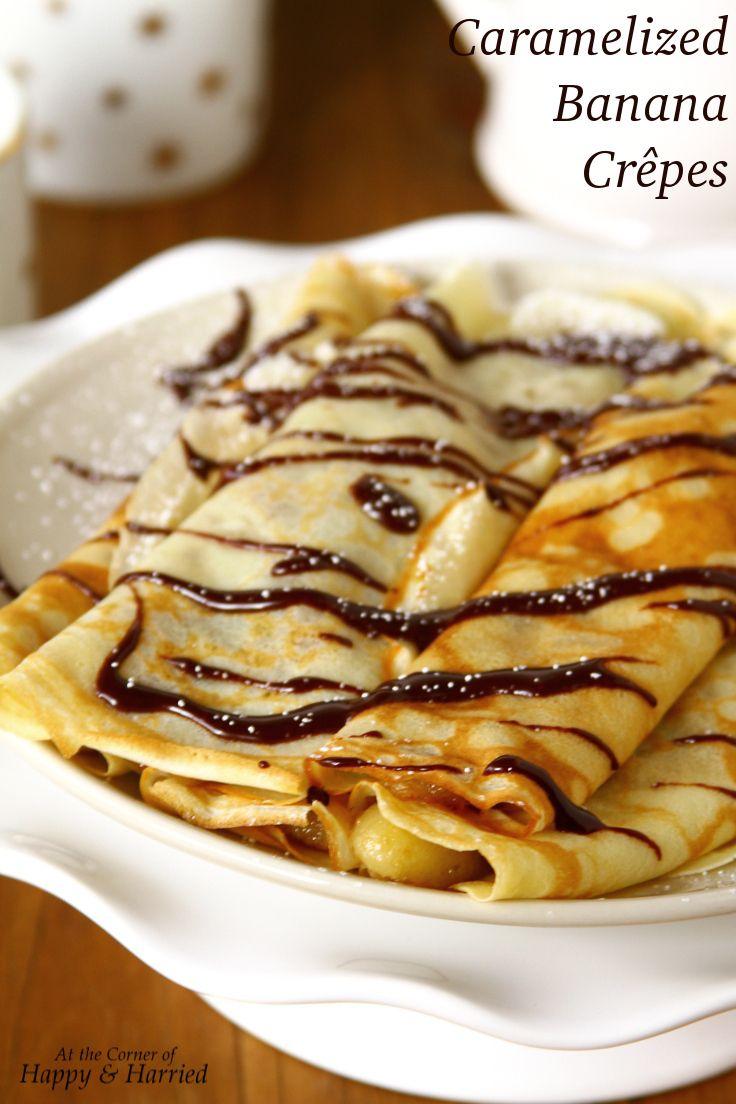 Caramelized Banana Crepes. #brunch #dessert