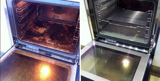 Con este truco lograrás dejar tu horno como nuevo