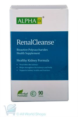 Renal Cleanse - Healthy Kidney Formula - Alpha - 90 capsules | Shop New Zealand NZ$105