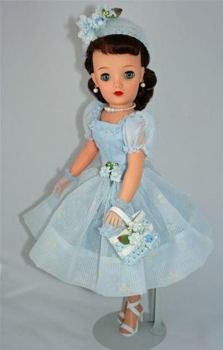 "Pretty Brunette Ideal Miss Revlon VT 18 Vintage 50's 18"" Fashion Doll Cissy PAL 