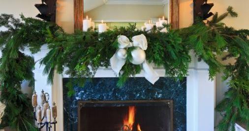 Decorazioni Natale festoni pino fai da te