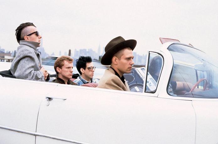 Joe Strummer, Mick Jones, Paul Simonon, Topper Headon. The Clash