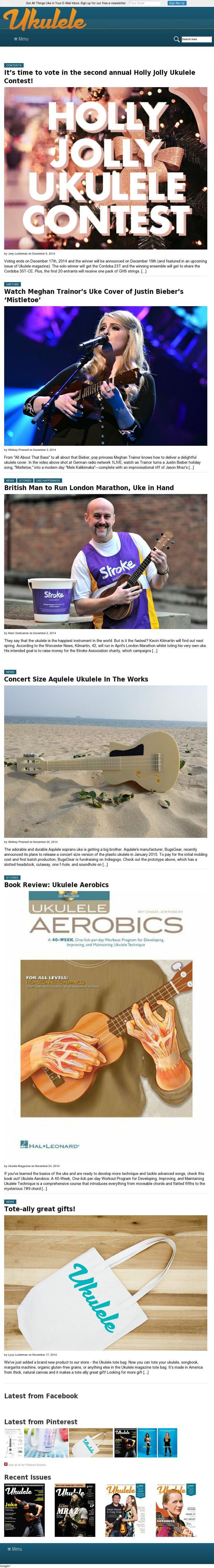54 best ukulele magazine images on pinterest ukulele amazing check out the ukulele magazine website fandeluxe Image collections
