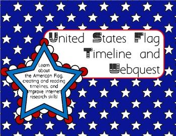 united states flag timeline and webquest my tpt products social