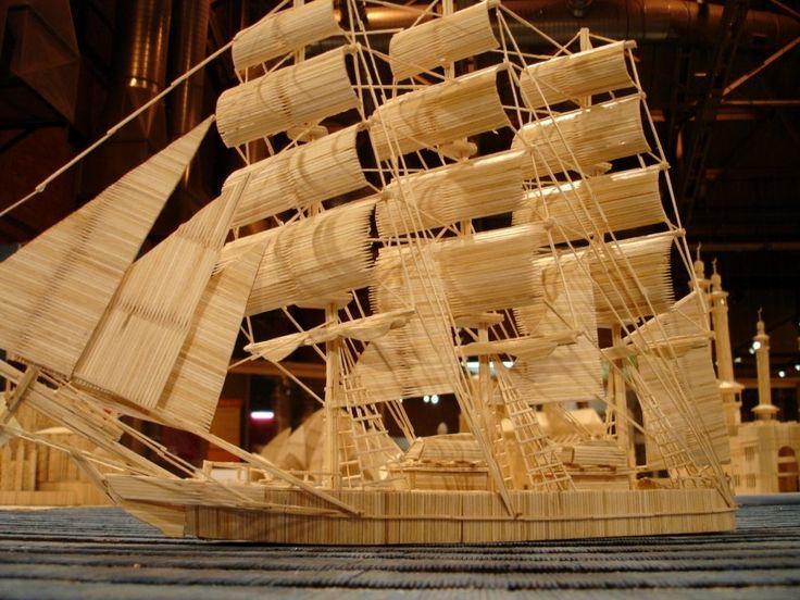 торговая стратегия, картинки кораблей из спичек одним самых