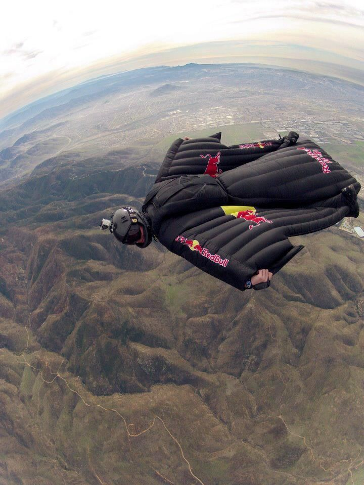 Wing suit gliding