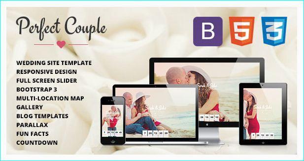 20 Best Wedding Responsive HTML Website Templates