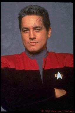 """Robert Adame Beltran (b. Nov 19, 1953), American actor, known for his role as Raoul in Paul Bartel's cult film Eating Raoul and his role as Commander Chakotay on Star Trek: Voyager. Beltran was born in Bakersfield, California, the son of Aurelia Olgin (née Adame) and Louis Perez Beltran, first generation Mexican-Americans. He refers to himself as being """"Latindio"""" (a portmanteau of Latino and Indio)."""