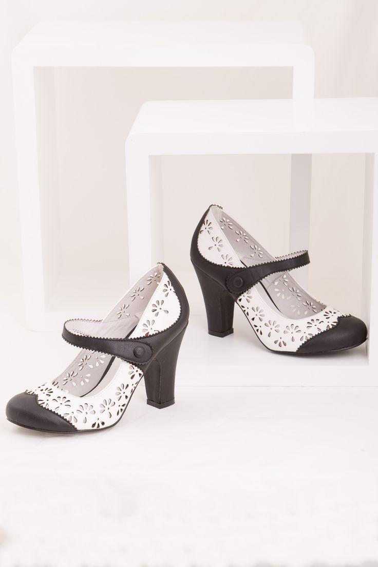 Vintage inspired Tanio Heel $89.95 AT vintagedancer.com