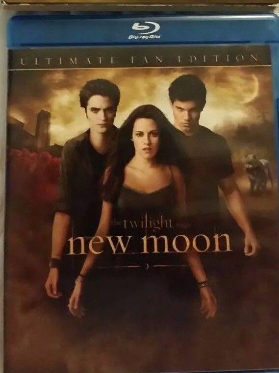 The Twilight Saga New Moon Ultimate Fan Edition Blu Ray Twilight Saga New Moon Twilight New Moon