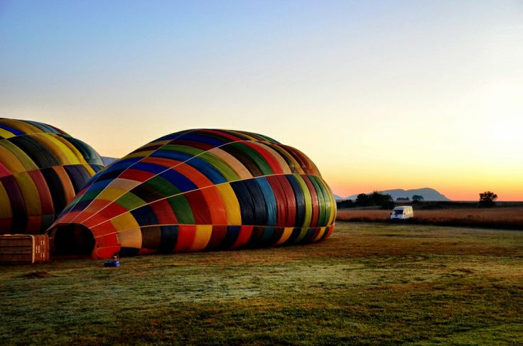 Hot Air Balloon Ride Over South Africa
