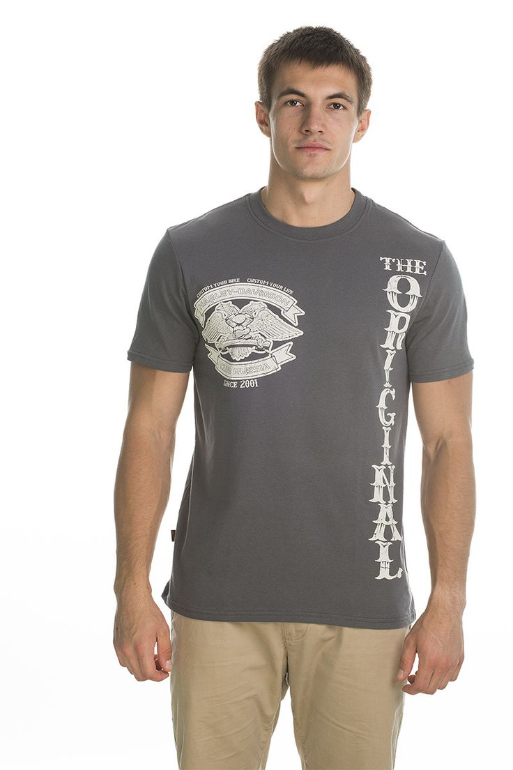 T-shirt Original; grey.