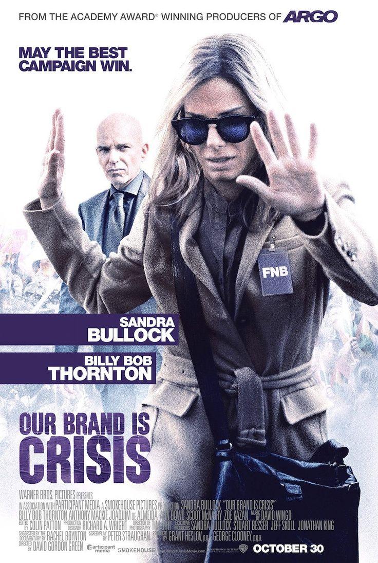 OUR BRAND IS CRISIS trailer & poster – Sandra Bullock grooms International politics