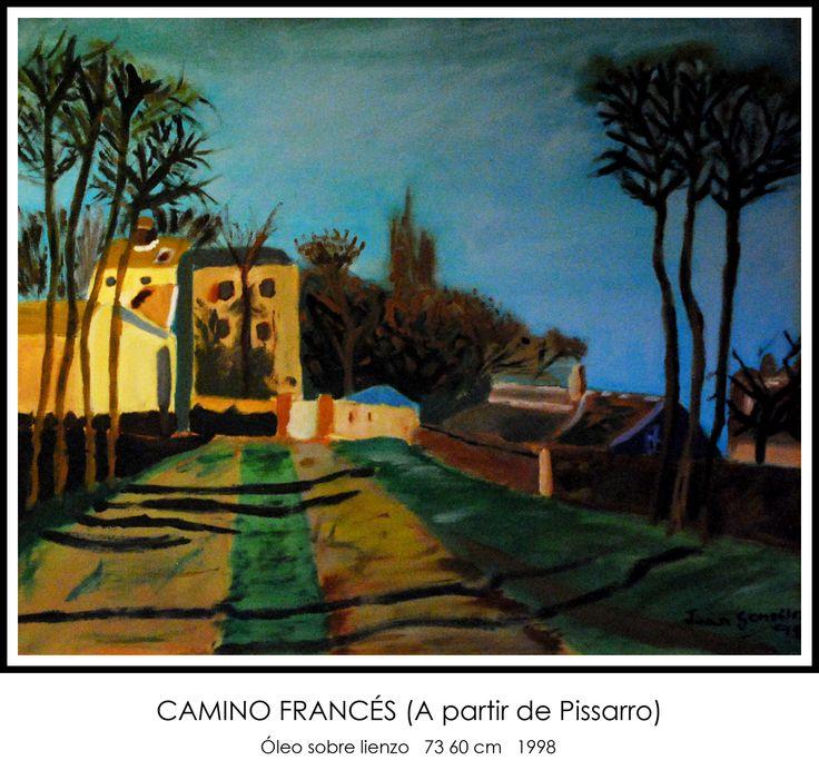 Camino francés #óleo #lienzo